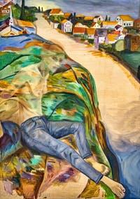 Jill Mulleady, Erupted Citadel, à la Biennale d'Art de Venise