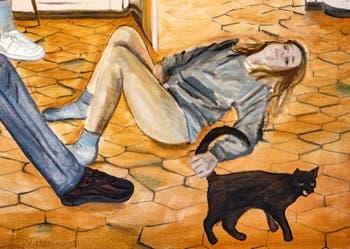 Jill Mulleady, Interior, à la Biennale d'Art de Venise