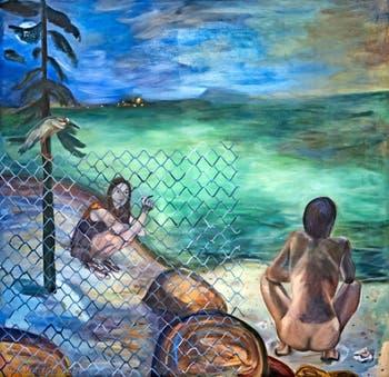 Jill Mulleady, Point Lobos, à la Biennale d'Art de Venise
