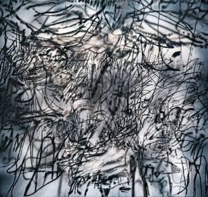 Julie Mehretu, Ghosthymn, à la Biennale d'Art de Venise