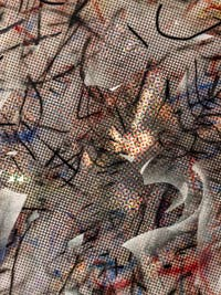 Julie Mehretu, Oceanic Beloved, détail, à la Biennale d'Art de Venise