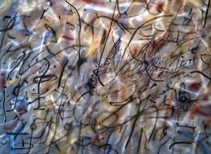 Julie Mehretu, Under the Lowest, détail, à la Biennale d'Art de Venise