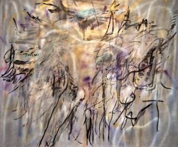 Julie Mehretu, When Angels Speak of Love, à la Biennale d'Art de Venise