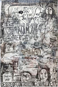 Kaari Upson, View From The Interiorized You Are The Pervert, à la Biennale d'Art de Venise