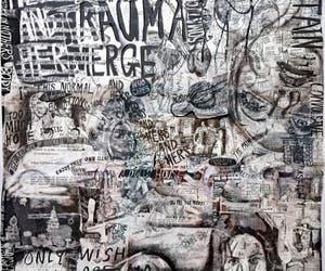 Kaari Upson, View From The Interiorized You Are The Pervert, détail, à la Biennale d'Art de Venise