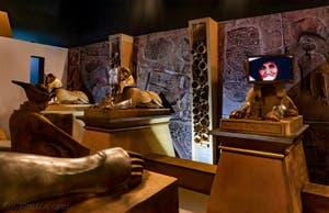 Les Sphinx de Khnum au Pavillon égyptien de la Biennale d'Art de Venise 2019