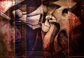 Islam Abdallah, Livre des Morts des anciens Egyptiens, pavilon Egypte à la Biennale d'art de Venise