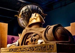 Le Sphinx Khnum Parabole au Pavillon égyptien de la Biennale d'Art de Venise 2019
