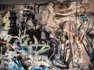 Laure Prouvost, Vois ce Bleu Profond te Fondre, au Pavillon Français à la Biennale d'Art de Venise 2019
