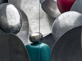 Liu Wei, Microworld, détail, à la Biennale d'Art de Venise