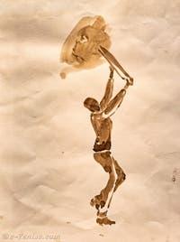 Michael Armitage, Sans titre, à la Biennale d'Art de Venise