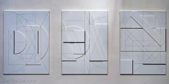 Stanislav Kolíbal, White Reliefs, République Tchèque, Biennale d'Art de Venise 2019