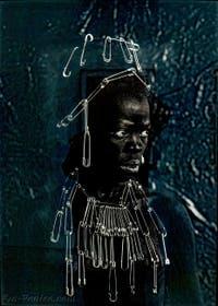 Zanele Muholi, Fisani, Parktown, à la Biennale d'Art de Venise
