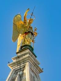 L'Ange girouette du Campanile de Saint-Marc de Venise
