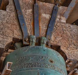 Détail d'une cloche du Campanile de Saint-Marc à Venise