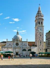 L'église et le Campanile de Santa Maria Formosa à Venise