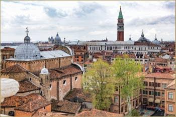 Venise vue depuis le Campanile dei Greci