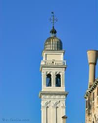 Le Campanile de San Giorgio dei Greci, Saint Georges Martyre, à Venise