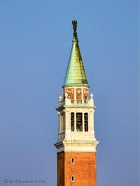 Le Campanile de San Giorgio Maggiore à Venise