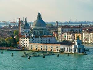 La vue sur Venise depuis le Campanile de San Giorgio Maggiore