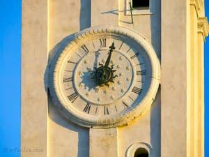 Le cadran du Campanile de Santa Maria Formosa à Venise