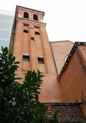 Tour carrée du Campanile de San Felice à Venise
