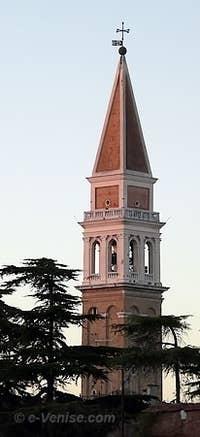 Le campanile de San Francesco della Vigna