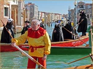 Carnaval de Venise - Le Carnaval en bateau des Vénitiens