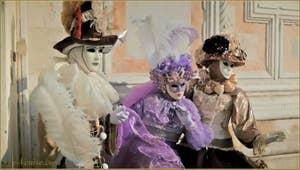 Masques et costumes au Carnaval de Venise