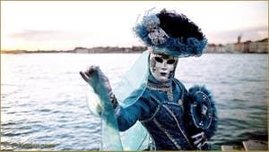 Carnaval de Venise à San Giorgio Maggiore.