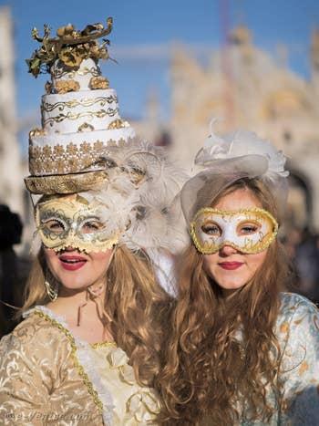 Carnaval de Venise, en beauté et sourires !