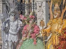 Belle costumée du Carnaval de Venise
