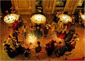 Carnaval de Venise Dîner Bal Masqué Danse Menuet au Ridotto