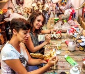 Carnaval : Cours de Création de Masque de carnaval de Venise