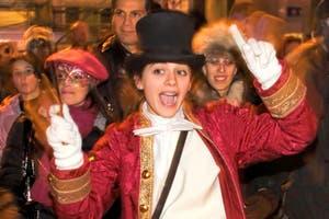 Carnaval de Venise Visite de Venise avec un comédien