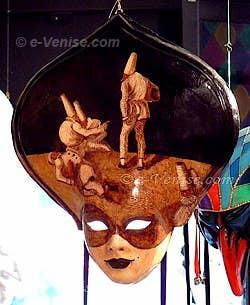 Masque de Carnaval de Venise - Ca' del Sol
