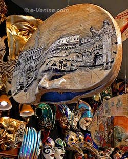 Masques de Carnaval de Venise - Ca' del Sol
