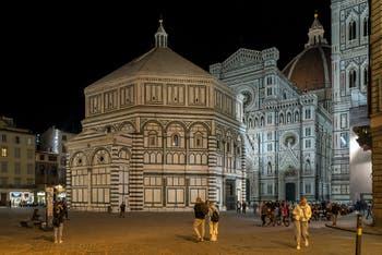 Le Baptistère de San Giovanni à Florence en Italie