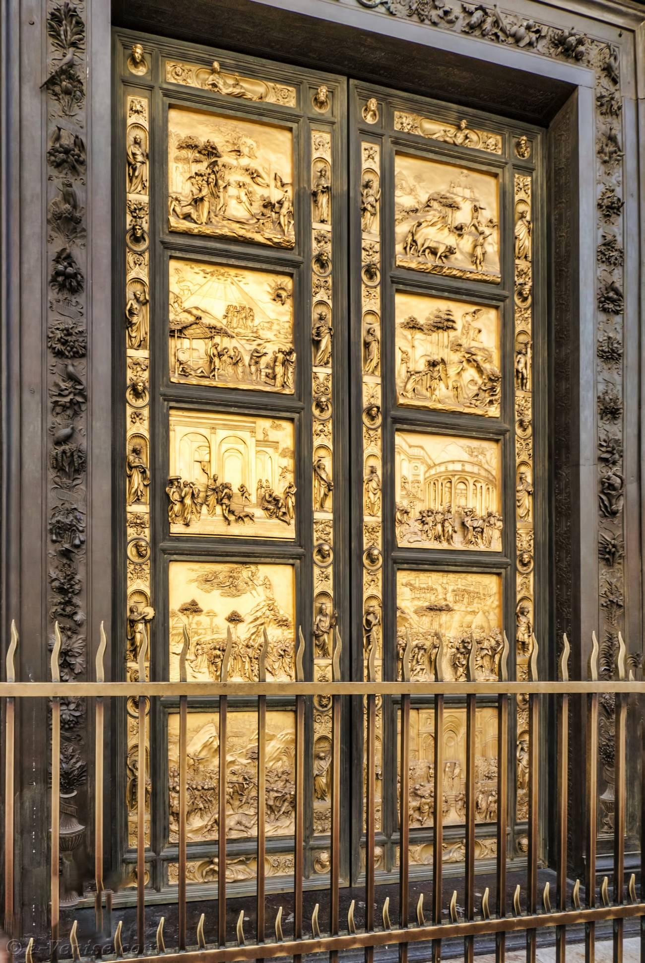 Florence italie le baptist re san giovanni - Les portes du penitencier original ...