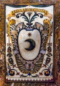 Blason Ville de Toscane Chapelle des Princes Médicis à Florence en Italie