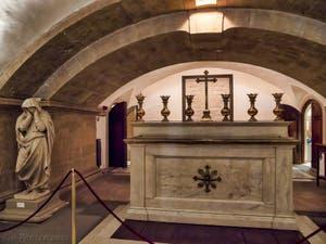 Crypte de la chapelle Médicis à Florence en Italie