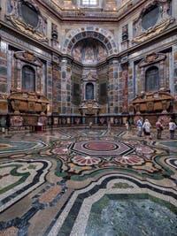 Chapelle des Princes Médicis à Florence en Italie