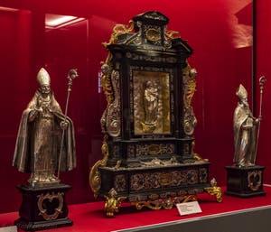 Reliques de la Crypte de la chapelle Médicis à Florence en Italie