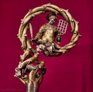 Crosse XVIe siècle Michelangelo di Viviano da Gaiole Trésor de la chapelle des Princes Médicis à Florence en Italie