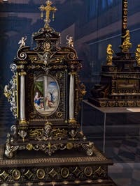 Reliquaire Trésor de la chapelle des Princes Médicis à Florence en Italie
