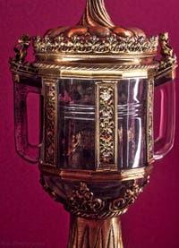 Reliquaire de saint Jean l'Aumônier Crypte de la chapelle Médicis à Florence en Italie
