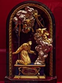 Reliquaire de saint Pascal Baylon Crypte de la chapelle Médicis à Florence en Italie
