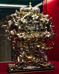 Reliquaire de saint Thomas de Hereford Crypte de la chapelle Médicis à Florence en Italie