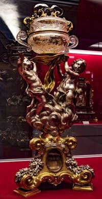 Reliquaire de saint Conrad Crypte de la chapelle Médicis à Florence en Italie