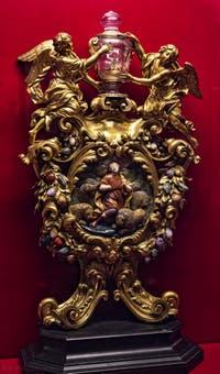 Reliquaire de saint Ambroise Crypte de la chapelle Médicis à Florence en Italie